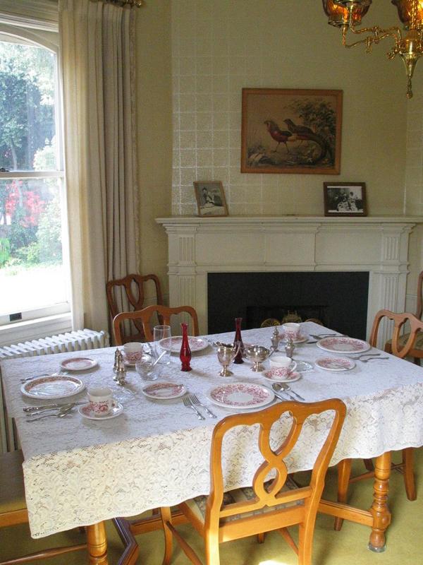 Breakfast Room.