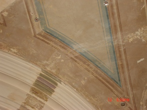 Third floor hallway ceiling design