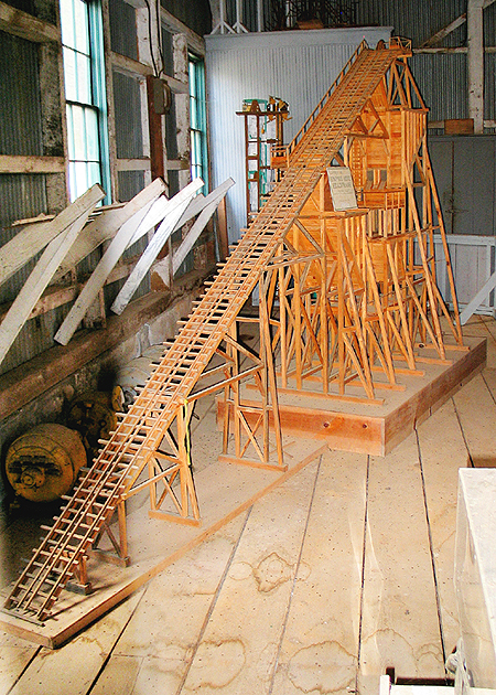 Model of Headframe