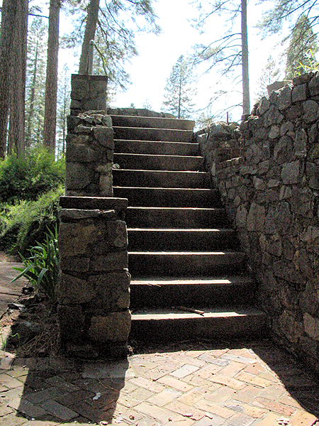 Stairs Leading to Ruins