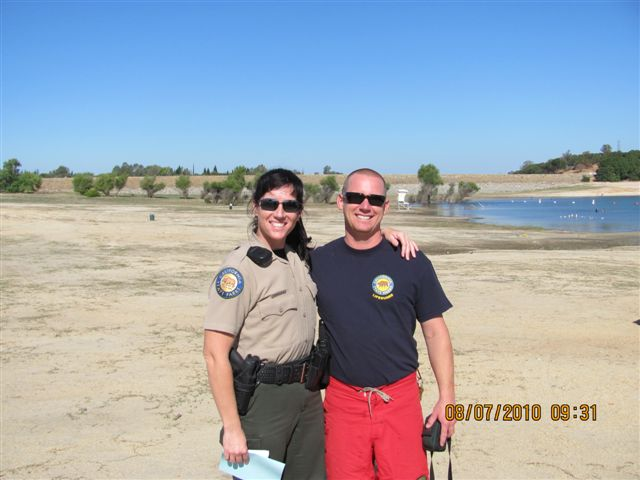 Image of lifeguard and ranger