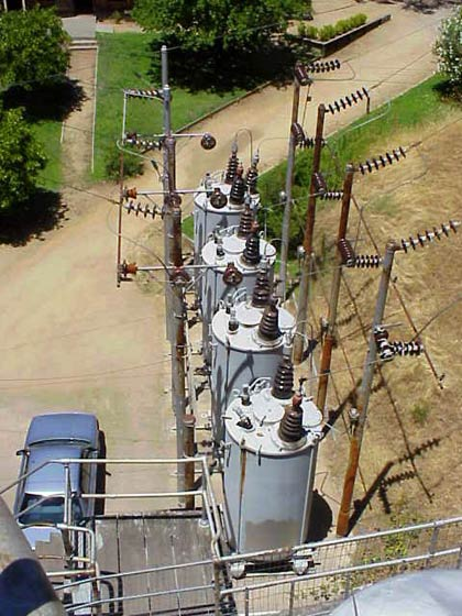 View of Powerhouse Transformers