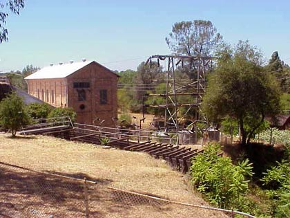 View of Folsom Powerhouse and Grounds