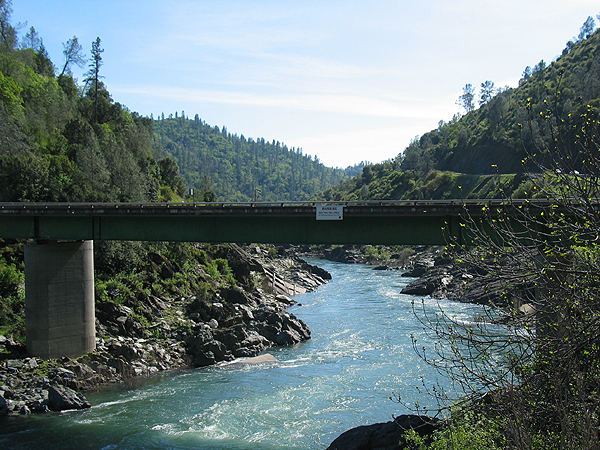 Bridge over the American River at Auburn SRA