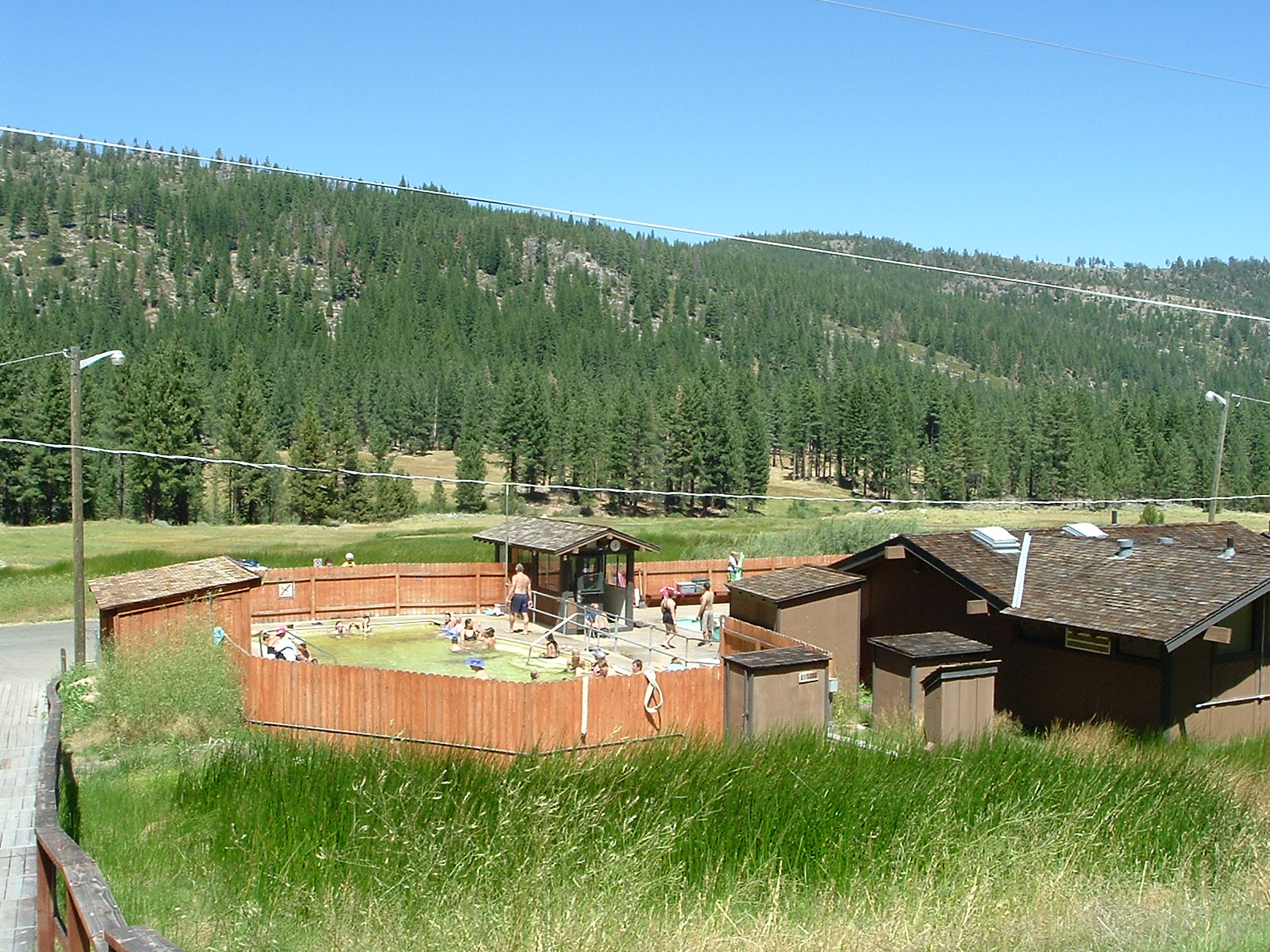 Grover Hot Springs and Markleeville