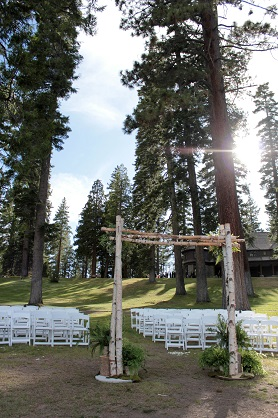 Ceremony Site White Chair