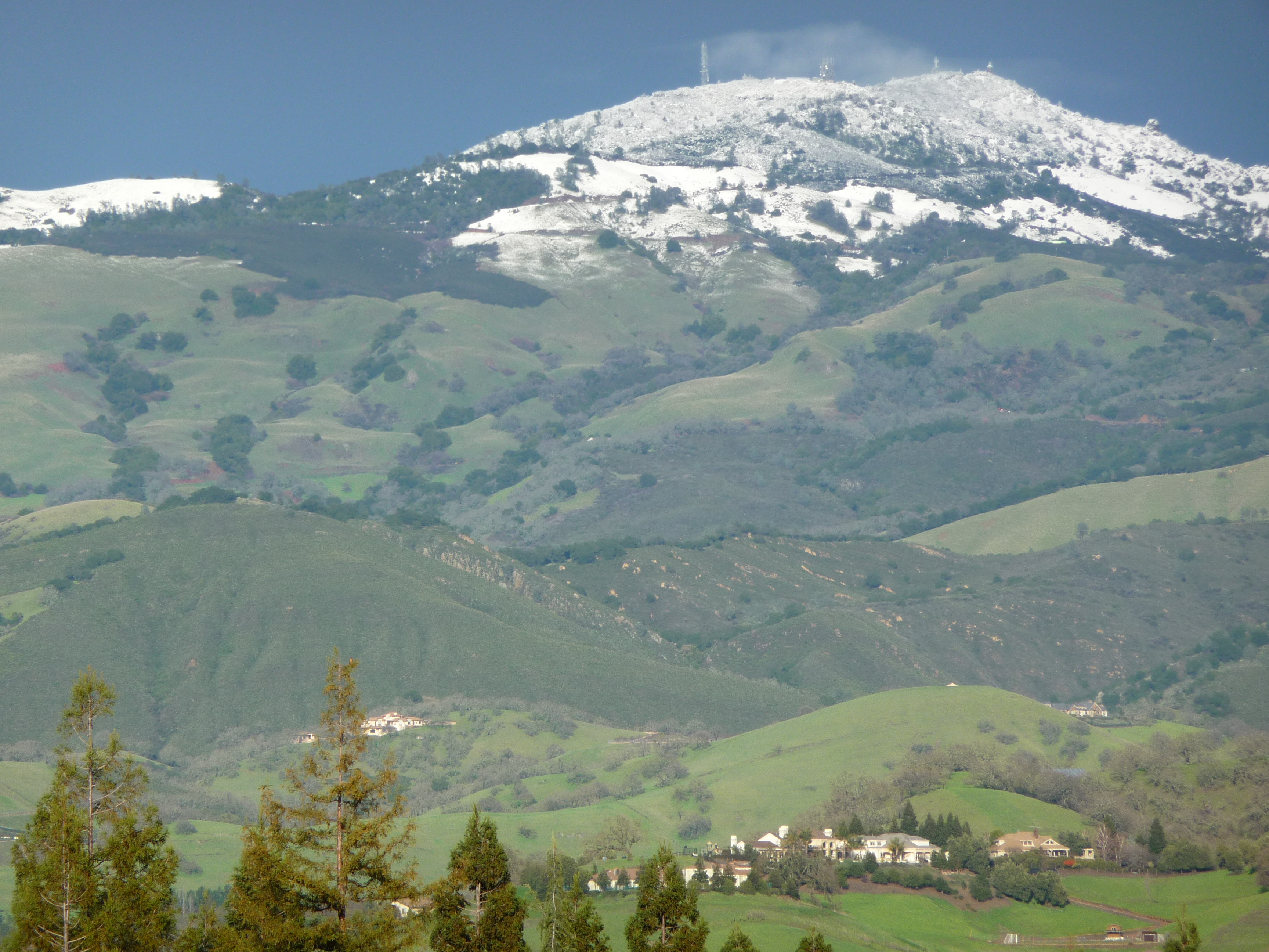 View of Summit from Danville