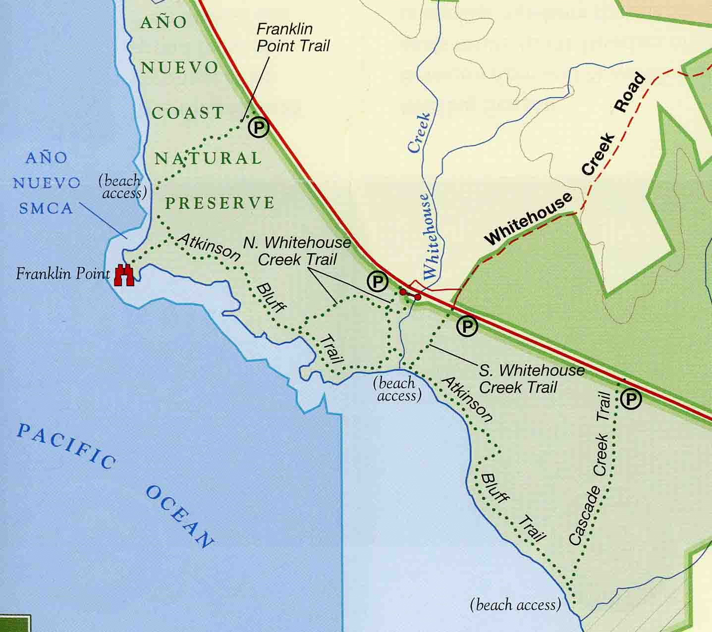 Franklin Point Map