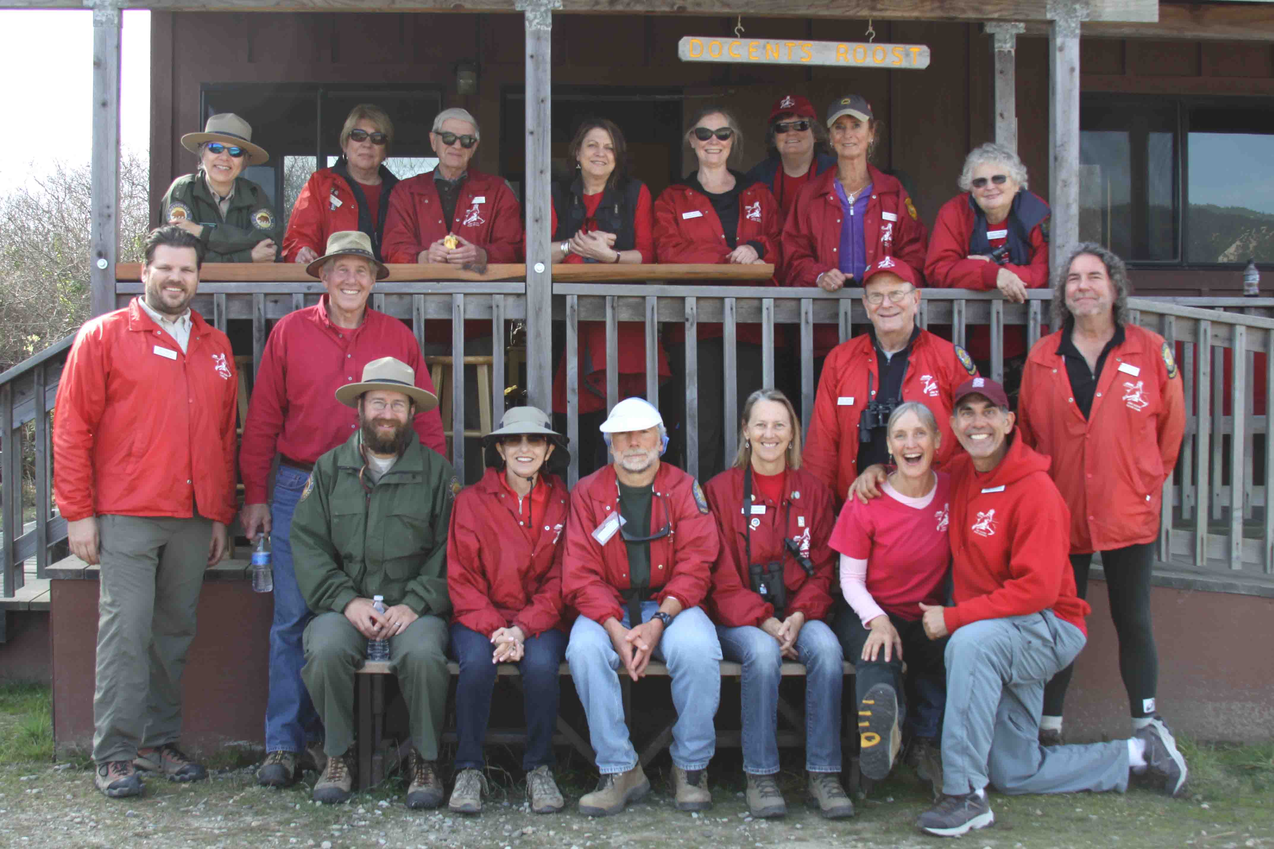 Docents at Roost