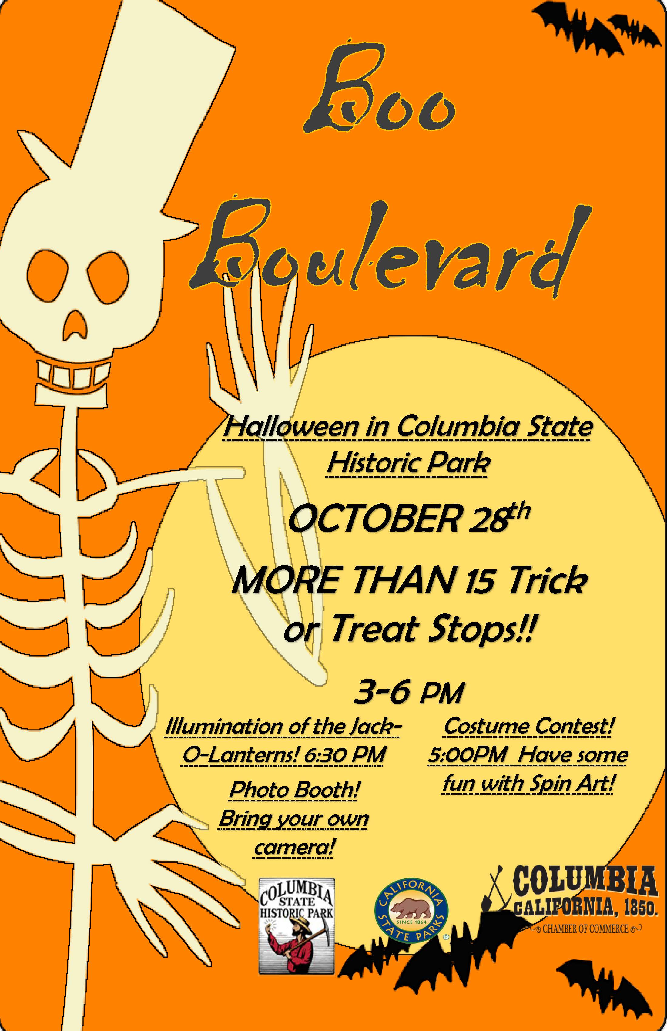 Boo Boulevard Flyer image