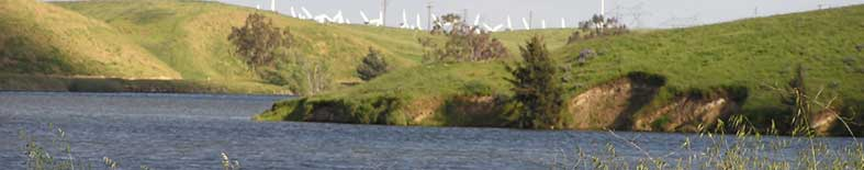 View of lake at Bethany Resevoir SRA