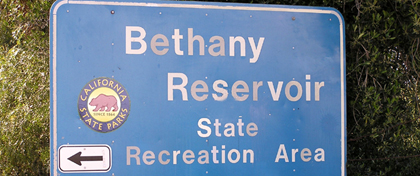 Bethany Resevoir SRA -- Sign