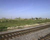 Allensworth Train Tracks