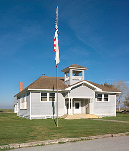 Allensworth schoolhouse