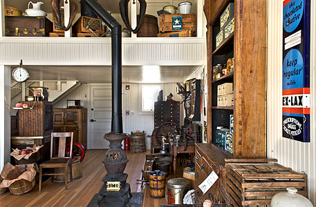 Interior of Hindsman Store
