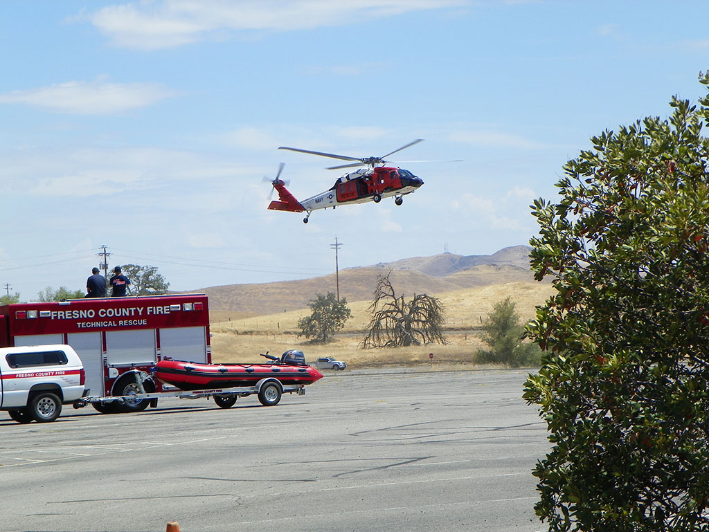 Helicopter landing image