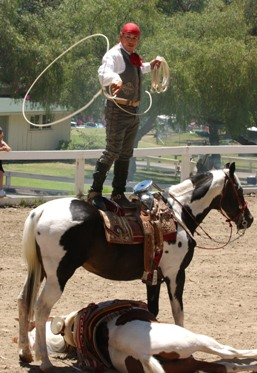 Ramon Becerra at the Ranch Jubilee. (Photo by Rich Schmitt)