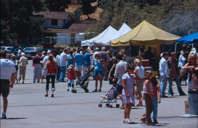 Almost 2,000 people attend the 2005 Ranch Jubilee.