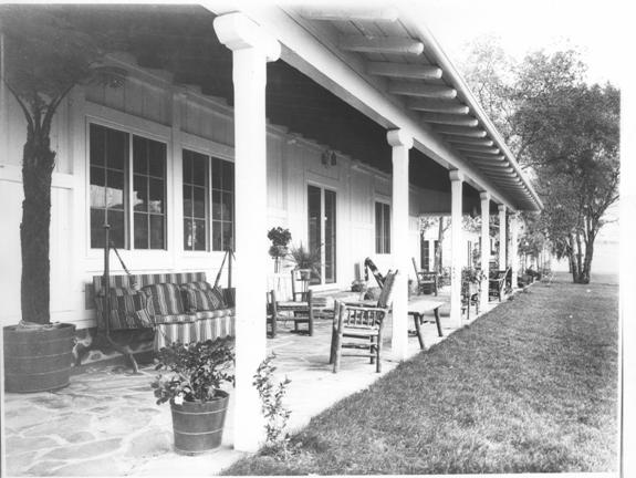 Ranch House Porch