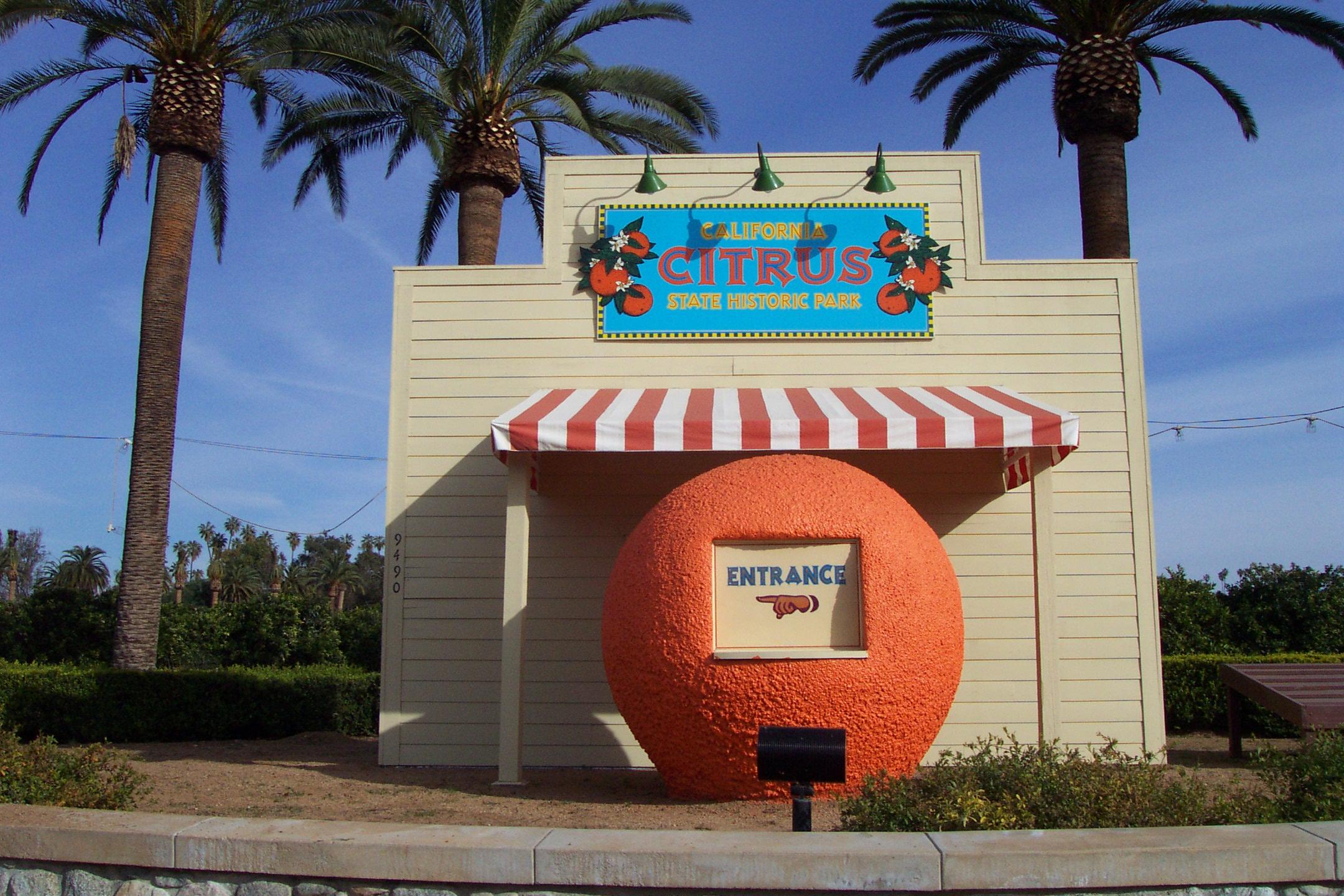 California citrus shp big orange solutioingenieria Choice Image
