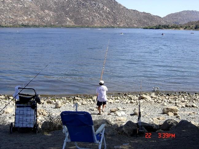 Lake perris sra image gallery for Lake perris fishing report