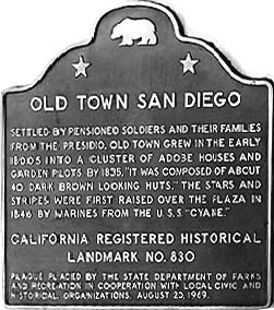 California Registered Historical Landmark 830