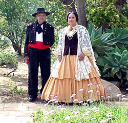 Staff in Mexican Period Attire