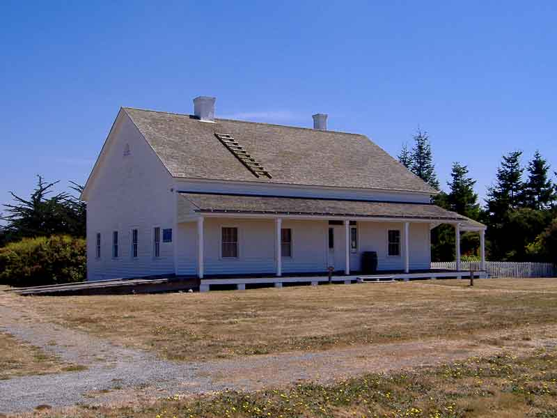 Fort Humboldt SHP Building