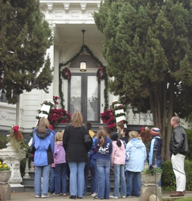 Governor's Mansion State Historic Park provides tours throughout the school year.