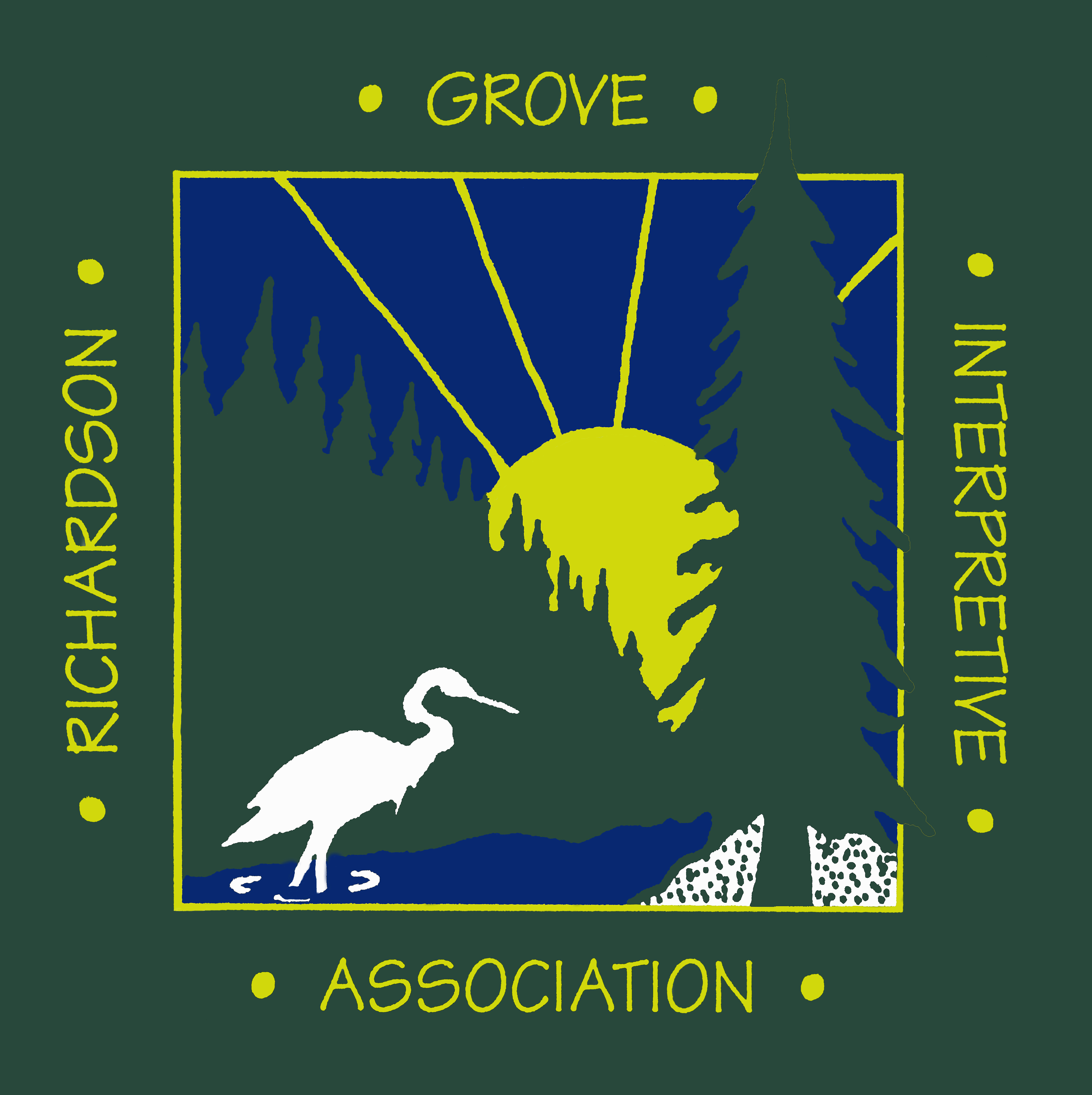 Richardson Grove Interpretive Association logo