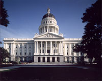The California Capitol as it stands today, virtually unchanged since 1869.