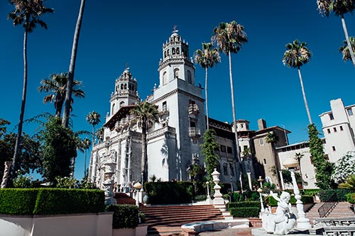 Hearst Castle Image for guide exam posting
