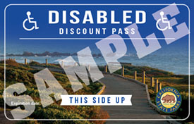 Disabled Discount Pass 2017 image
