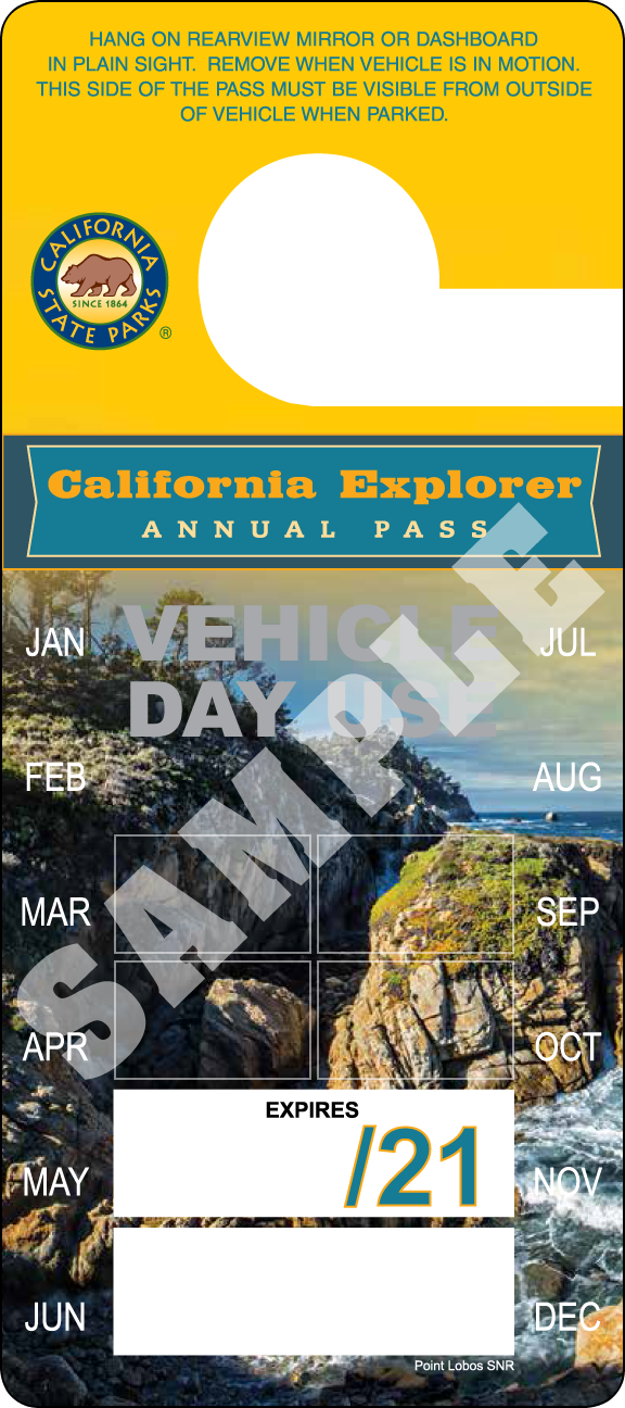 CA Explorer 2020 Annual Pass
