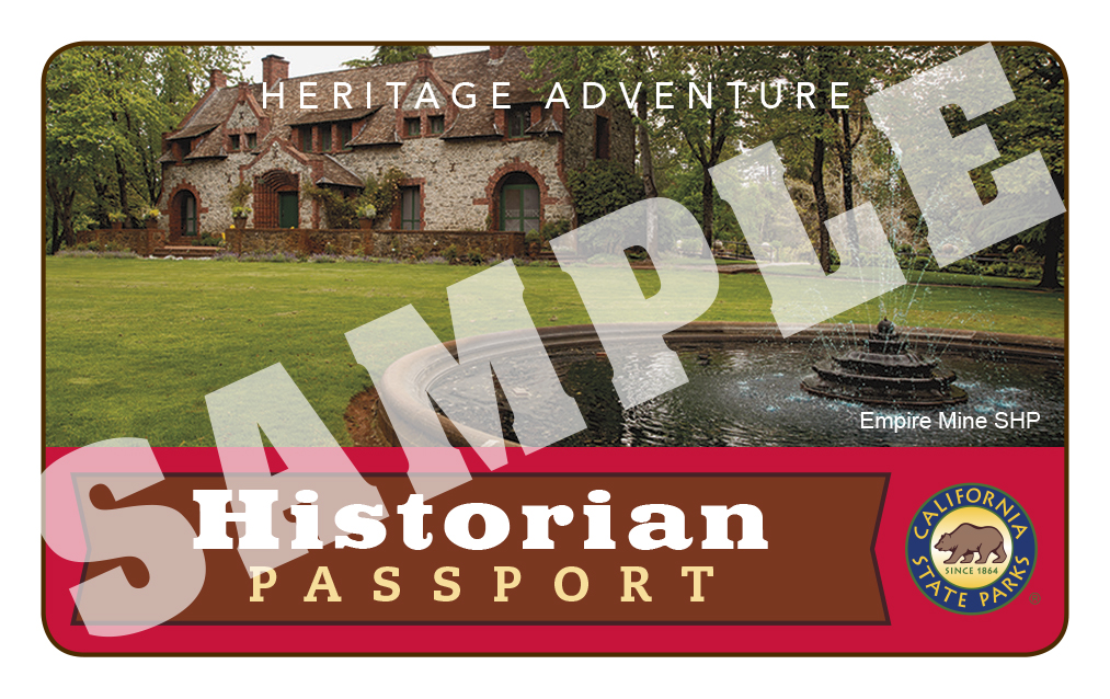 Annual Historian Passport Day Use Admissio Pass image