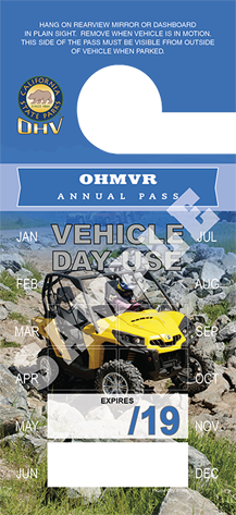 OHVMR Annual Pass Image