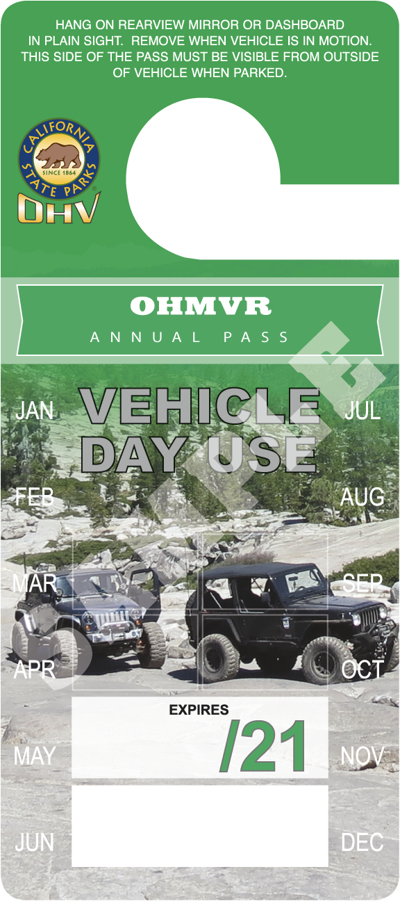 OHV Annual Pass