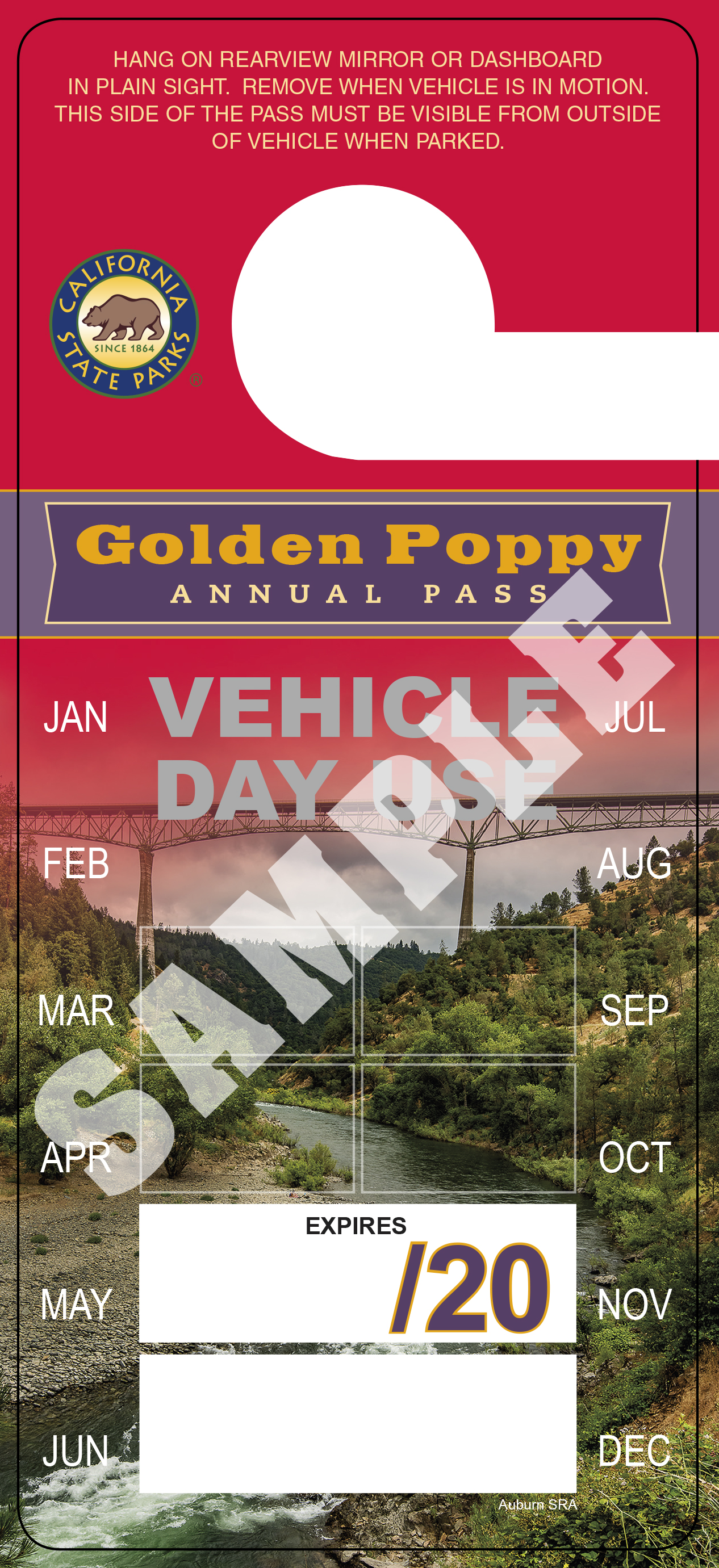 Annual Golden Poppy Pass image