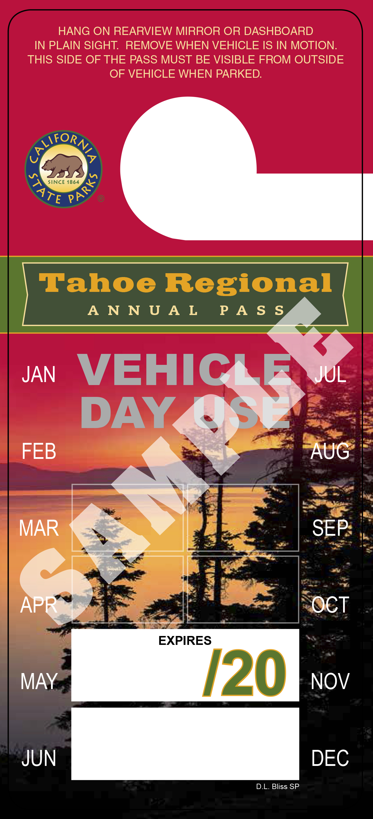 Annual Tahoe Regional Pass image