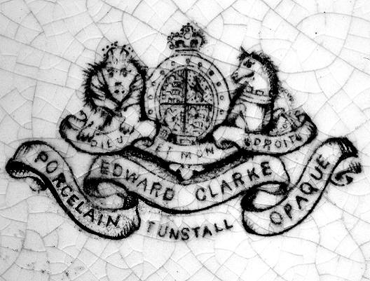 Image of Clarke pottery mark