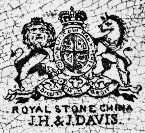 Image of Davis pottery mark