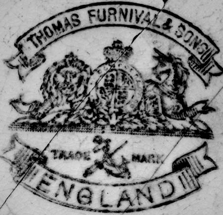 Image of Furnival pottery mark
