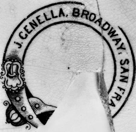 Image of Genella pottery mark