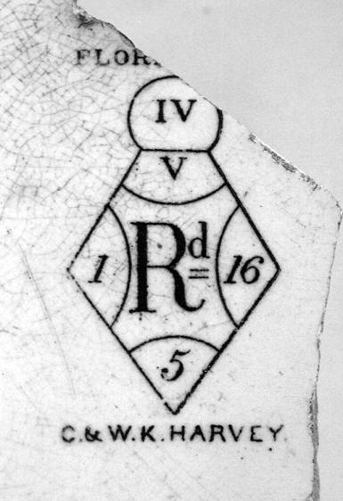 Image of Harvey pottery mark