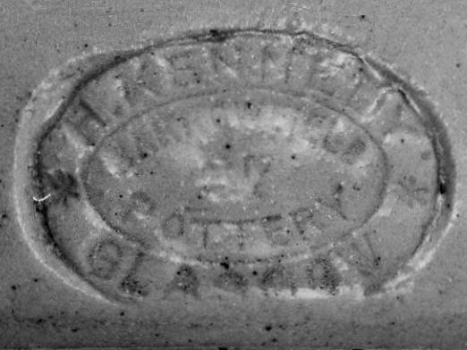Image of Kennedy pottery mark