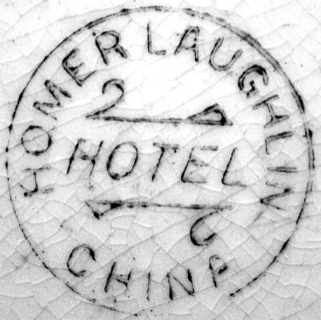 Image of Laughlin pottery mark
