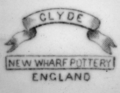 Image of New Wharf pottery mark