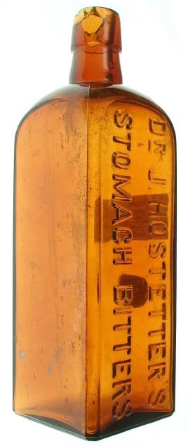 Dr. Hostetter's Stomach Bitters Bottle