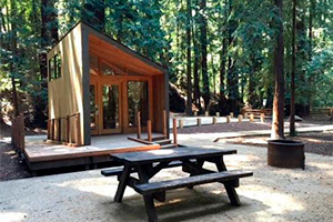 California state parks reservation system for Big sur national park cabins