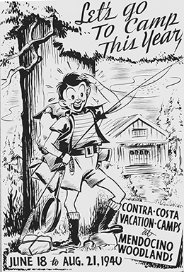 Contra Costa County camp poster, 1940